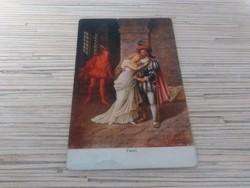 Antik képeslap (1918)