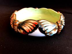 Zsolnay porcelán lepkés tál