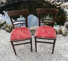 2 db párnás retro szék, nosztalgia, étkezőszék szék,