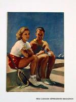 1936 július 12  /  PESTI HIRLAP VASÁRNAPJA  /  SZÜLETÉSNAPRA! RÉGI, EREDETI ÚJSÁG. Szs.:  11788