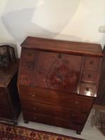 Bieder desk with secretory tabernacle