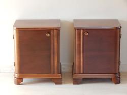 Art Deco éjjeli szekrény
