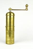 1A102 Zassenhaus réz kézi kávédaráló 19 cm