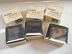 Antik Kodak üveges diapozitívek