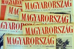 1979 szeptember 30  /  MAGYARORSZÁG  /  SZÜLETÉSNAPRA RÉGI EREDETI ÚJSÁG Szs.:  5384