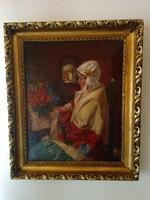 Ivanácz Zsolt József festmény