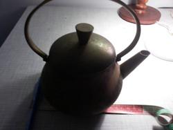 1,5 literes vörösréz réz teás kanna kacsó vízforraló víz forraló tea
