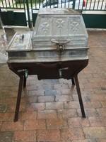 Fa tüzelésű mosógép 1890-1910
