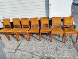 Antik szecessziós tölgyfa székek