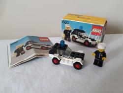 Lego 600  1978 ból eladó. Doboz 5/10 , leírás 7/10 , az autó , figura jó állapotú.