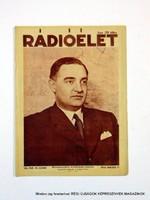 1935 május 17  /  Rádióélet  /  Régi ÚJSÁGOK KÉPREGÉNYEK MAGAZINOK Szs.:  9250