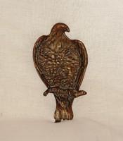 Régi, figurális, szirti-sast formáló bronz tálka.