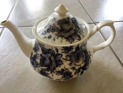 Eladó Roy Kirkham kék rózsás porcelán teáskanna
