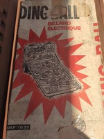 Régi flipper, eredeti dobozában!