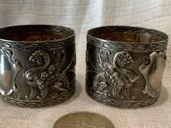 Griff madaras szavéta gyűrű ezüst