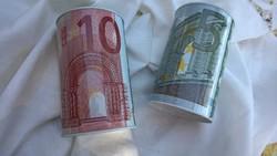 Fém persely akár eurónak m 12,5 cm