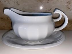 Hollóházi porcelán szósz mártás kiöntő