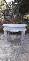 Provence vintage barokk dohányzó asztal