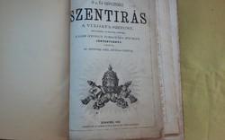 Nagyméretű Káldi Biblia 1865-ből!!