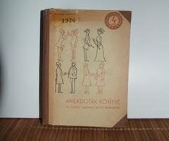 Anekdoták könyve - Illés Béla (1960)