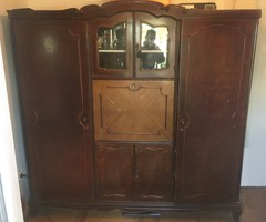 Antik ruhásszekrény - felújítandó