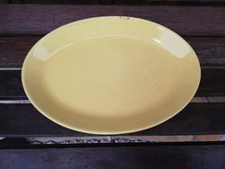 Kispesti Gránit sárga  pecsenyés tál, sültes tál