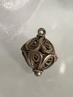 Nagyon szép ezüst antik medál