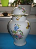 Herendi nagyon ritka fedeles váza, Viktória mintával