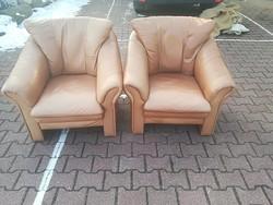 2 db Bőr Fotel