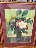 Székely akvarell 1964 eladó