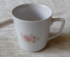 Apulum virágos (teás) bögre (román porcelán)