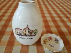 Székesfehérvár váza és tálka