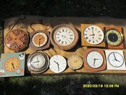 Sok falióra  Glashütte,Jantar,Anker, Máv vasutas óra stb