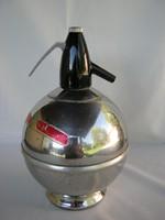 Retro fém gömb szódás szifon
