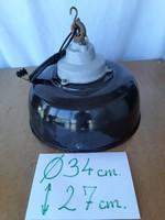 Ipari lámpa,zománc lámpa ,szarvasi lámpa  45.000 forint
