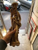 Nagymérretű. kínai kerámia szobor, 40 cm-es, gyönyörű.