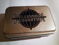 Millenium Cartamundi limitált kiadású franciakártya díszdobozban, 1999
