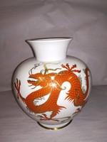 Sárkány motívumos szép váza!!!!!