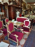 6 részes felújított ülőgarnitúra