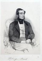 Franz Eybl (1806-1880): Férfiportré