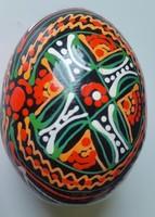 Fatojás kézifestésű esztergált mérete:6,5CMX4, 5cm