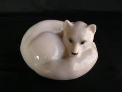 Lomonoszov porcelán róka