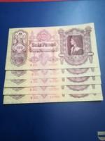 5db sorszámkövető 100 pengő