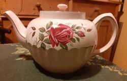 Csodaszép fajansz tea vagy hosszú kávé kiöntő sérült csőrrel