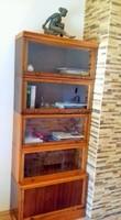 Eredeti lingel szekrény, könyves szekrény