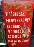 Zománctábla ,tábla ,festett tábla 60.000 forint