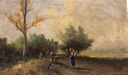 Neogrády Antal - Pásztorlányok