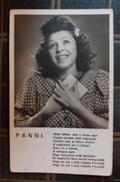 """KIÁRUSÍTÁS! Nagykovácsi Ilona """"Panni"""" képeslap  1942-ből"""