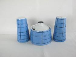 Fasold & Stauch Bock Wallendorf porcelán reto fűszertartó készlet