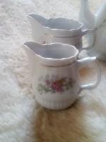 Kávés készlet részei